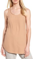 Eileen Fisher Women's Scoop Neck Silk Tank