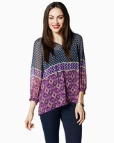 Charming charlie Moroccan Breeze Peasant Top