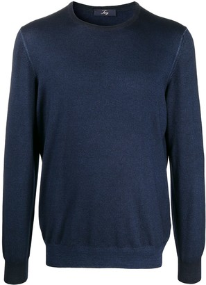 Fay Crew Neck Jumpers