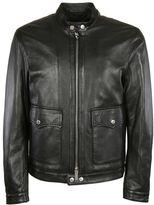 DSQUARED2 Moto Leather Jacket