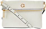 C. Wonder As Is Pebble Leather Foldover Crossbody Bag