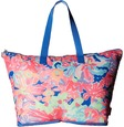 lilly pulitzer getaway packable tote tote handbags