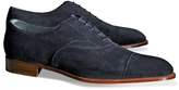 Brooks Brothers Edward Green Chelsea Suede Captoes