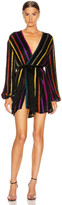 Retrofete retrofete Gabrielle Robe Dress in Multi Stripe Thin | FWRD