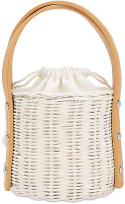 Wicker Wings Lvr Exclusive Quan Rattan Bucket Bag