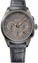 HUGO BOSS Onyx Grey IP Stainless Steel Chronograph, 1513366