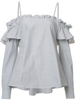 Rebecca Vallance Parker Frill shirt - women - Cotton - 6