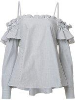 Rebecca Vallance Parker Frill shirt - women - Cotton - 8