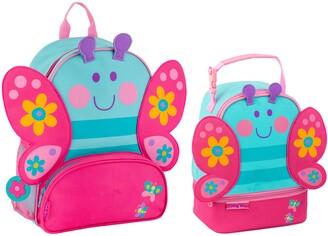 Stephen Joseph Butterfly Sidekick Backpack & Lunch Pal