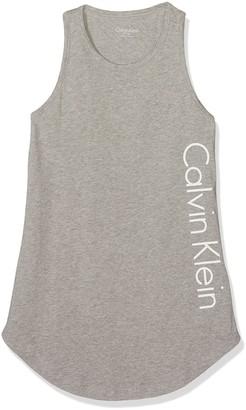 Calvin Klein Girls Beach Tank Dress Cover up