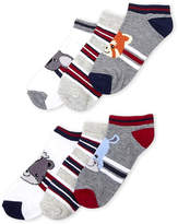 Stepping Stones (Toddler Boys) 6-Pack Low-Cut Animal Socks