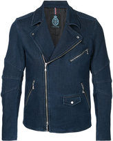 GUILD PRIME denim biker jacket
