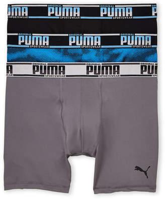 Puma 3-Pack Sport Style Boxer Briefs