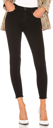 A Gold E Agolde AGOLDE Sophie Mid Rise Ankle Skinny. - size 24 (also