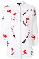 Philipp Plein Aries shirt - women - Cotton/Spandex/Elastane - L