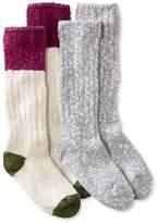 L.L. Bean L.L.Bean Cotton Ragg Camp Socks,Two-Pack