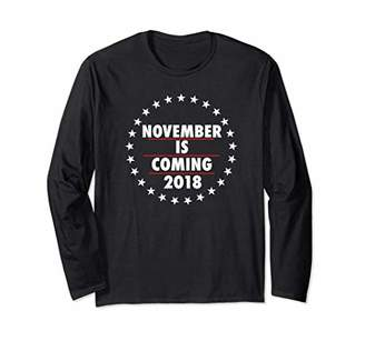November Is Coming 2018 Long Sleeve