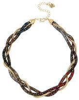 Betsey Johnson Confetti Multi Twist Collar Necklace