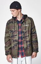 Obey Camouflage Hooded Coach Jacket