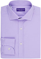Ralph Lauren Purple Label Men's Micro-Checked Dress Shirt-LIGHT PURPLE