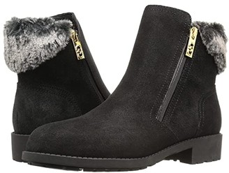 Cole Haan Quinney WP Bootie (Castlerock WP Suede/Shearling) Women's Boots