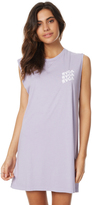 RVCA Electric Stacked Dress Purple