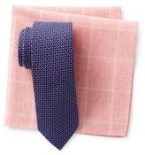 Original Penguin Tompkins Neat Tie & Pocket Square Set