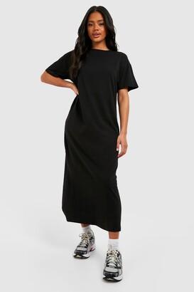 boohoo Basic T-shirt Maxi Dress