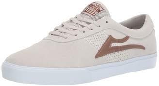 Lakai Footwear Summer 2019 Sheffield White/Bronze Suede Size 10 Tennis Shoe M US