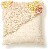 Minna Wool & Cotton Split Shag Pillow