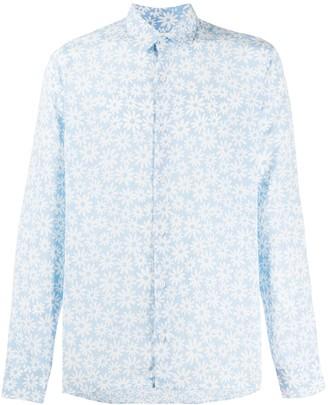 Sandro Paris Floral Print Shirt