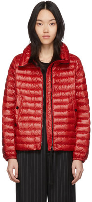 Moncler Red Down Basane Jacket