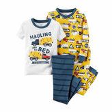 Carter's Boys 4-pc. Short Sleeve Kids Pajama Set-Preschool