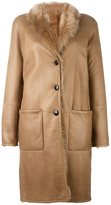 Joseph panelled coat
