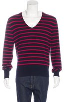 Michael Bastian Cashmere Striped Sweater