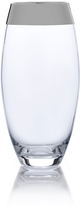 Mikasa Serenity Platinum Small Teardrop Glass Vase
