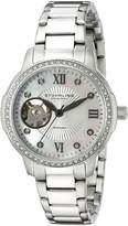 Stuhrling Original Women's 491.01 Perle 491 / Stainless Steel Watch