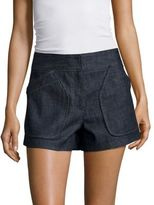 Derek Lam Cotton Denim Shorts