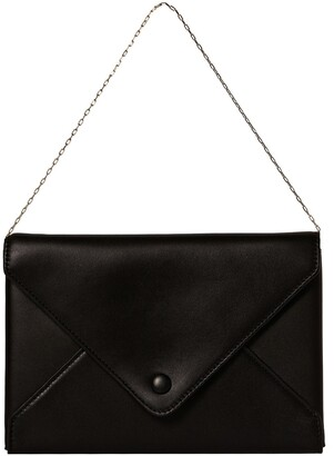 The Row Leather Envelope Bag