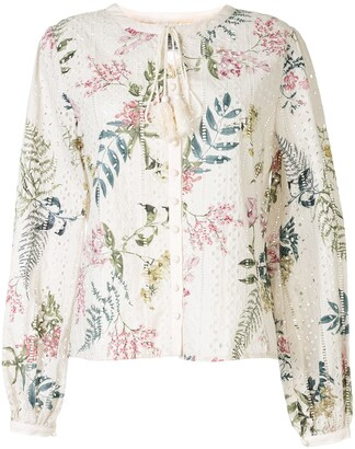 We Are Kindred Floral Long-Sleeve Blouse