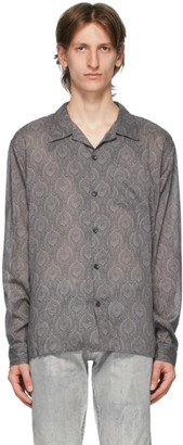 John Elliott Grey Seville Shirt