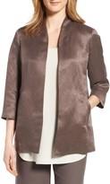 Eileen Fisher Women's Organic Linen & Silk Jacket