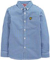 Lyle & Scott Boys Gingham Check Shirt