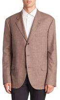 Brunello Cucinelli Wool, Silk & Linen Blazer