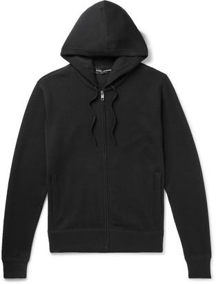 Dolce & Gabbana Cashmere Zip-Up Hoodie