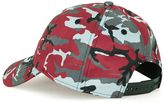 Topman Devote Grey And Red Camouflage Snapback Cap*