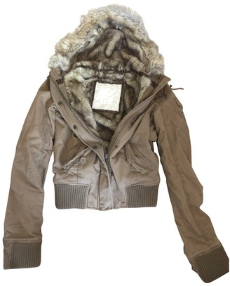Abercrombie & Fitch Brown Faux fur Jacket for Women