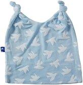 Kickee Pants Print Double Knot Hat - Pond Flying Birds-Preemie