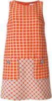 L'Autre Chose sleeveless plaid dress
