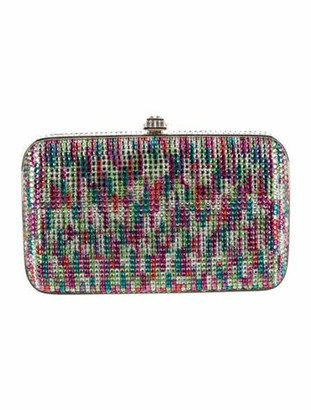 Judith Leiber Crystal-Embellished Celebration Clutch Pink